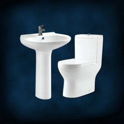 Amerigo Luxury Toilet with Basin Pedestal