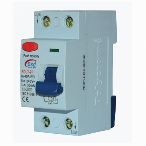 circuit breaker  ( RCCB 40A 30mA )